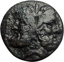 Thessalonica in Macedonia 88BC RARE Ancient Greek Coin Centaurs Janus i55954
