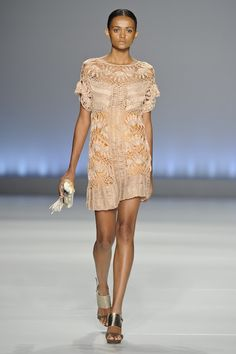 Hairpin Lace Crochet Dress. Clair, summer 2013 collection.