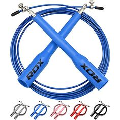 RDX Adjustable Steel Gym Skipping Jump Speed Rope Fitness Boxing Crossfit Cable Training Workout Exercise ** You can find more details by visiting the image link. (This is an affiliate link) #JumpRopes