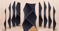 Bang & Olufsen fête ses 90 ans avec l'enceinte BeoLab 90 - Journal du Design Journal Du Design, Bang And Olufsen, Speaker Design, Audio Design, Home Technology, Deco Design, Design Design, Interior Design, Loudspeaker