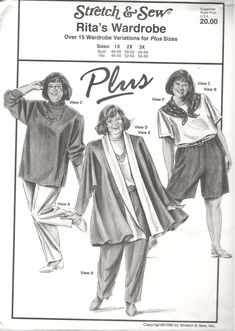 UNCUT Vintage Butterick Sewing Pattern Misses Easy Jacket Pants See /& Sew 4716