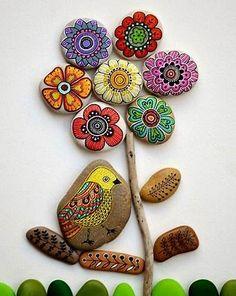 Bildergebnis für Bemalte Steine