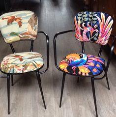 Petits fauteuils.Nathalie Gagneux créations