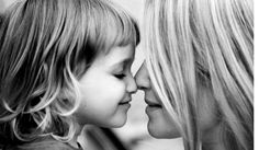 mother + daughter. melts my soul!