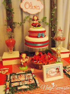 Little Red Riding Hood birthday party! See more party planning ideas at CatchMyParty.com!