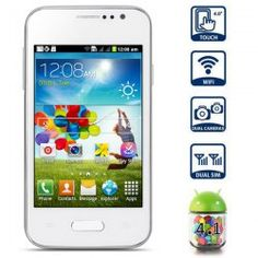 This phone will work with the following frequency Network type: GSMFrequency: GSM850/900/1800/1900MHz  Highlights: Type: Touch screen phone  Color: White OS: Android 4.1 CPU: SMDK4x12 1GHz RAM: 256MB (222.41MB available) ROM: 256MB (180.00MB available) Capacitive (3-point) touch screen ... Click on Picture to go to Store