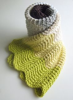 Whit's Knits: Chevron Baby Blanket by the purl bee, via Flickr