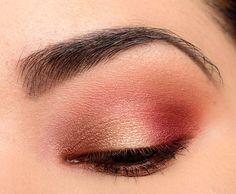 A Smoky, Gold & Plum Look featuring Modern Renaissance - Temptalia Beauty Blog: Makeup Reviews, Beauty Tips