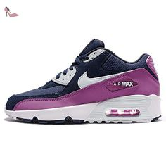 Nike Youths Air Max 90 Mesh Multi Leather Trainers 36 EU - Chaussures nike (*Partner-Link)