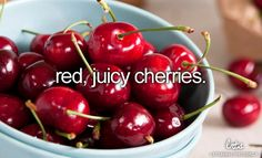 Best summer snack...BC cherries