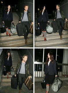 Lana Del Rey and Francesco Carrozzini at LAX airport #LDR