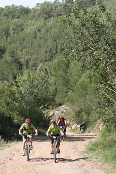 Ibiza mountain biking