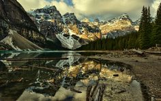 First Light at Moraine Lake by Jeff Clow on 500px