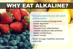 With all of the diet hoopla in your newsfeed and on magazine covers every week, it's easy to dismiss the alkaline diet as just another bunch of weight loss hype. This would be a mistake. Blood pH and alkalinity versus acidity are about survival, not weight loss.Our bodies were designed ...