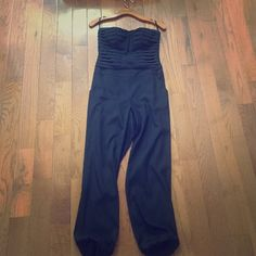 Bebe jumpsuit Fitted at top, formal bebe Other