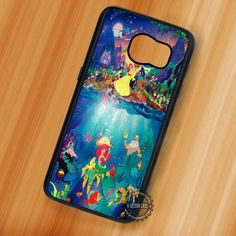 Dream World Disney Ariel Mermaid - Samsung Galaxy S7 S6 S5 Note 7 Cases & Covers