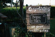 Wedding Signage   We
