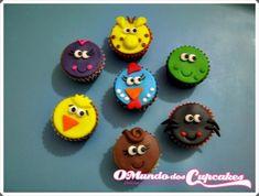 Mini Cupcake Galinha Pintadinha