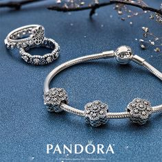 Give the gift of PANDORA Jewelry. Whether it's stunning rings or a bracelet with intricate sterling silver charms, there is something to wrap up and give for everyone on your list. #TheJoyOfGiving