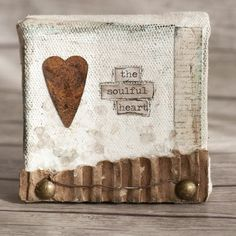 The Soulful Heart Mini Canvas Project - Stampington