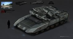ArtStation - Leopard Tank Concept, MuYoung Kim