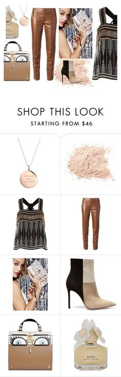 """""""Night Out"""" by bysc ❤ liked on Polyvore featuring Kate Spade, River Island, Gucci, Gianvito Rossi, Giancarlo Petriglia and Marc by Marc Jacobs"""