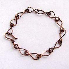 Eight-Chain Bracelet - beautiful tutorial. With link to 'adding patina' tutorial