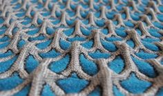 Architextile is the collection of three dimensional weave structures by textile designer Aleksandra Gaca. A Polish artist who studied at th...