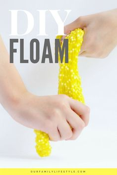 If your kids are as much into slime as mine are, you probably know the craziness of finding Elmer's glue and shaving cream all over your kitchen counters. Now, you can introduce them to this fun twist on the classic slime recipe with DIY Floam.