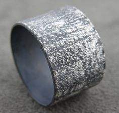 Hey, I found this really awesome Etsy listing at https://www.etsy.com/listing/124075272/star-dust-wide-silver-band