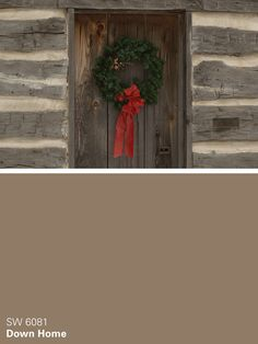 Sherwin-Williams brown paint color – Down Home (SW 6081)