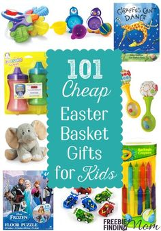 Easter basket ideas for babies and toddlers 95 ideas and free fun and cheap easter gifts 101 easter basket ideas for kids negle Images
