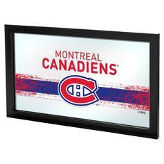 NHL Montreal Canadiens Framed Logo Mirror
