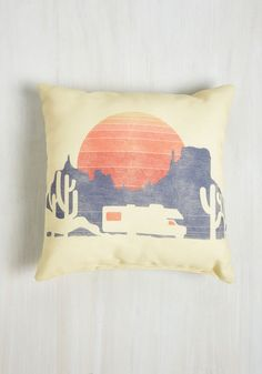RV There Yet? Pillow | Mod Retro Vintage Decor Accessories | ModCloth.com