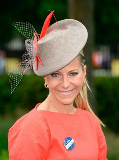 Emma Spencer - Royal Ascot 2013 - IDA COUTURE by Jayne Taylor Millinery.