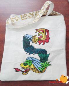 Quetzalcoatl Tote Bag Un lindo bolso personalizado con la imagen de…