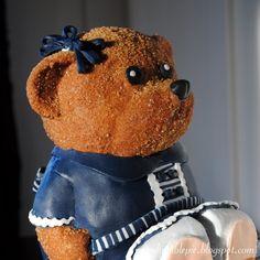 Teddy Bear Birhtday Cake