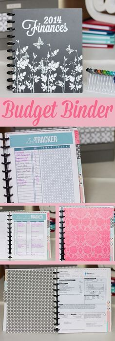 How to organize finances in using a no-file method! #budget #financebinder