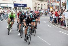 Tour of Britain in Bovey Tracey
