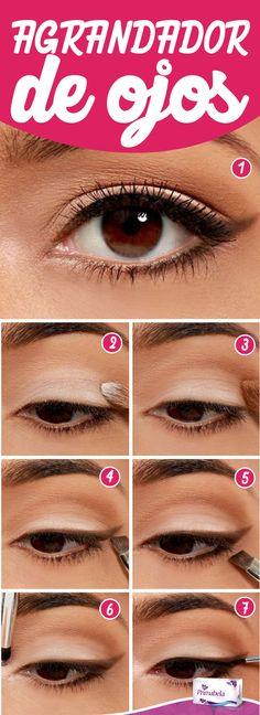 Si tienes unos ojos pequeños, te mostramos la solución para que los luzcas más…