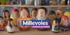 Chaque soir, découvrez le nouveau métier choisit par un des enfants de la famille Millevoies sur France Télévisions.