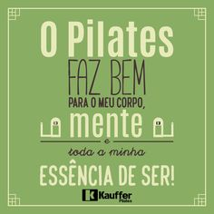 O Pilates me faz bem sempre! <3