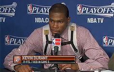 kevin durant wearing his adorable backpack. he even buckles it up! awww....