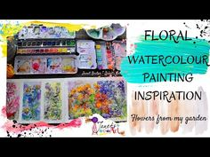 Floral Watercolor, Watercolor Paintings, Watercolour, Painting Inspiration, Garden, Artist, Flowers, Youtube, Ideas