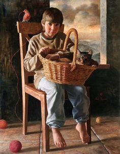 Arsen Kurbanov / Арсен Курбанов, 1969 | Portrait painter | Tutt'Art@ | Pittura • Scultura • Poesia • Musica