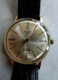 Poljot USSR CCCP wristwatch - great vintage condition - nice collector piece