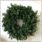 Product of the week! NATURAL WREATH perfect addition to your holiday decor this season, decorate it to your own taste! Fresh Cut Christmas Trees, Christmas Wreaths, Seasons, Holiday Decor, Natural, Christmas Swags, Holiday Burlap Wreath, Seasons Of The Year, Advent Wreaths