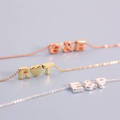 Are you interested in our personalised gift for her? With our personalised initial necklace you need look no further.