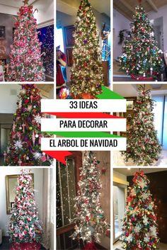 Ideas para decorar tu árbol de navidad. – Ana Galena