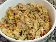 A creamy version of tuna mornay with plenty of vegetables. Tuna Mornay Recipe, Tuna Pasta Bake, Good Food, Yummy Food, Meat Chickens, Brunch Recipes, Meals, Dinners, Gluten Free Recipes